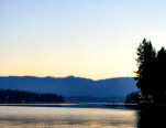 The Beautiful Hayden Lake Area in the Pacific Northwset: Hayden Lake is just 8 miles from the city of Coeur d'Alene and Coeur d'Alene Lake, and less than an hour from Spokane International Airport. - Hayden Lake Home Vacation Rental, Hayden Lake, Idaho