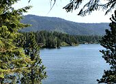 A beautiful view of Hayden Lake. The Lake House on Hayden, Hayden Lake House, Idaho.