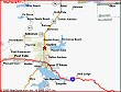 Map 1 for Hayden Lake House Vacation House Rental, Hayden Lake, Idaho